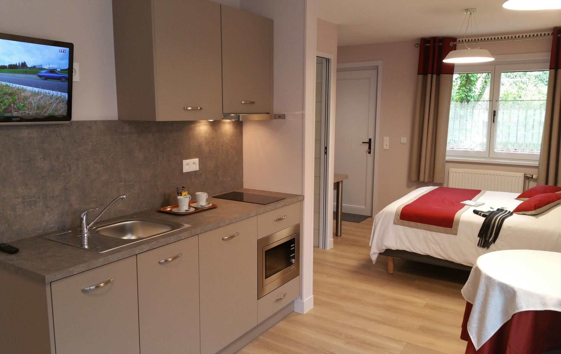 New in Saint-Omer, discover the rental Appart Hotel, Studio, Gîte