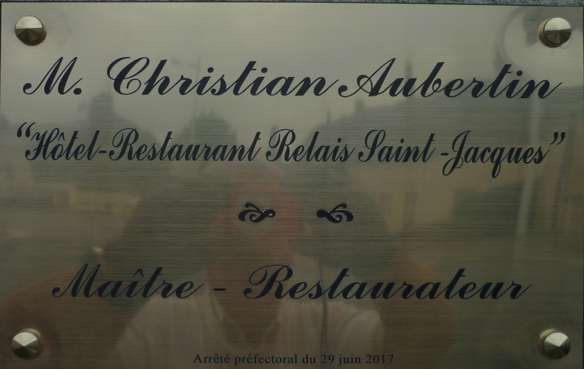"""Titre """" Maitre Restaurateur"""""""