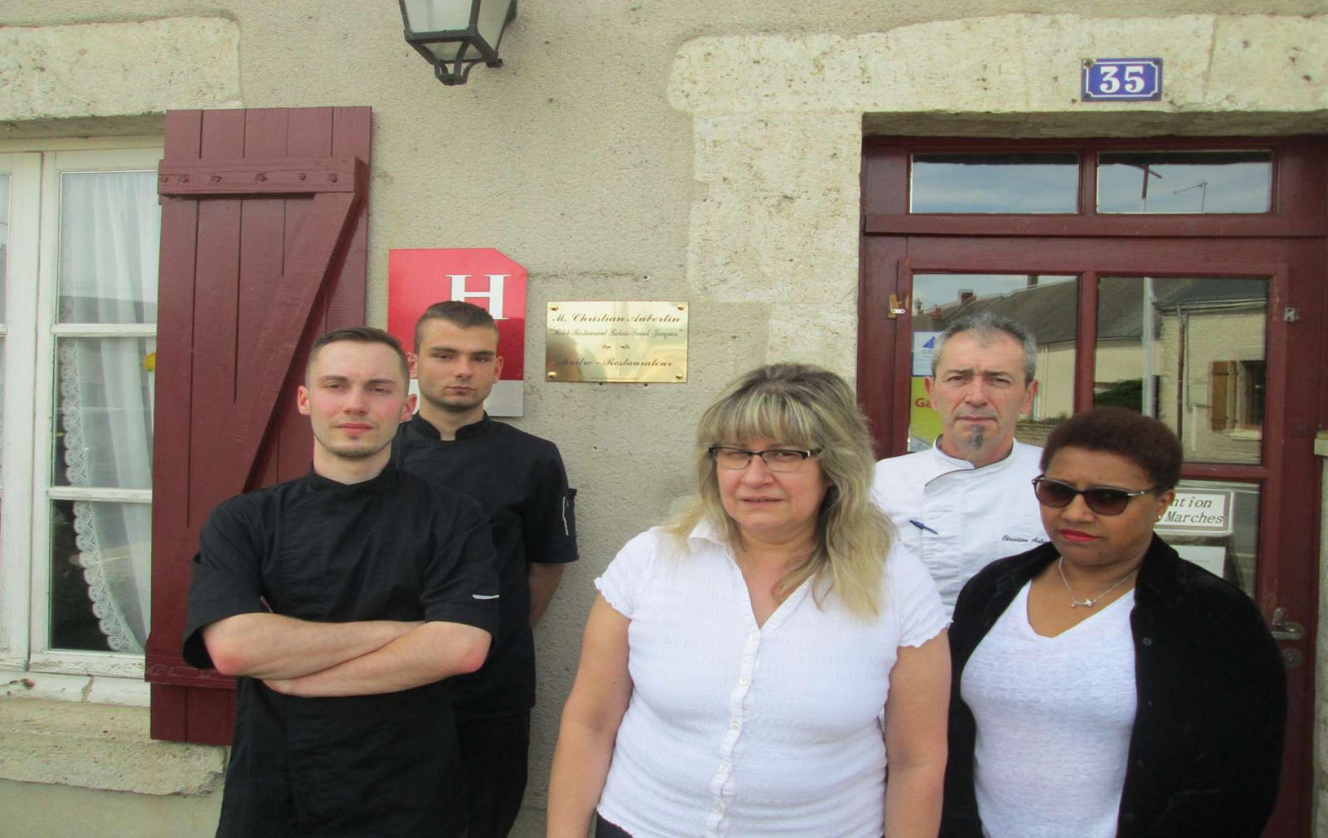 L'équipe du Relais Saint-Jacques