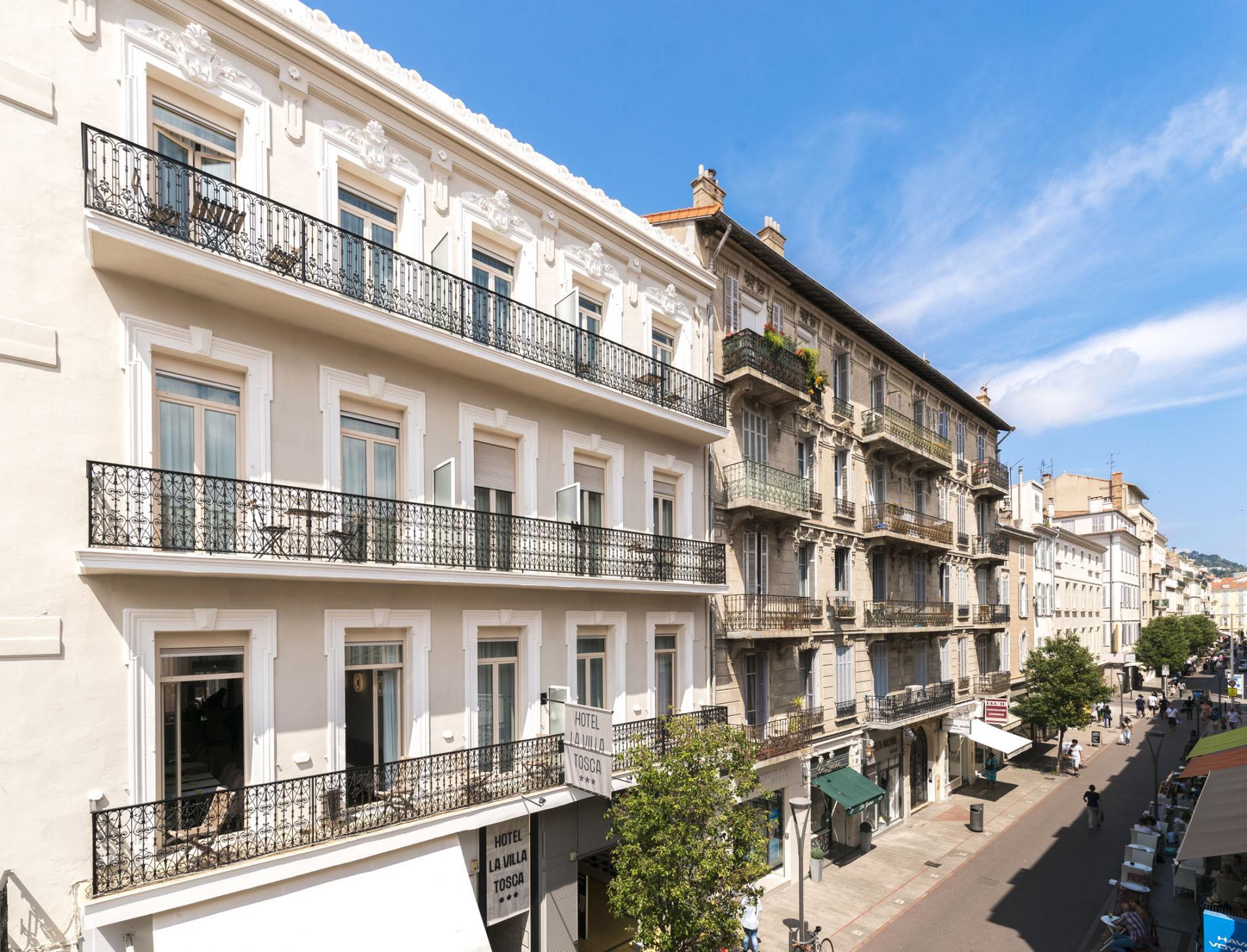 Hotel la Villa Tosca centre ville de Cannes