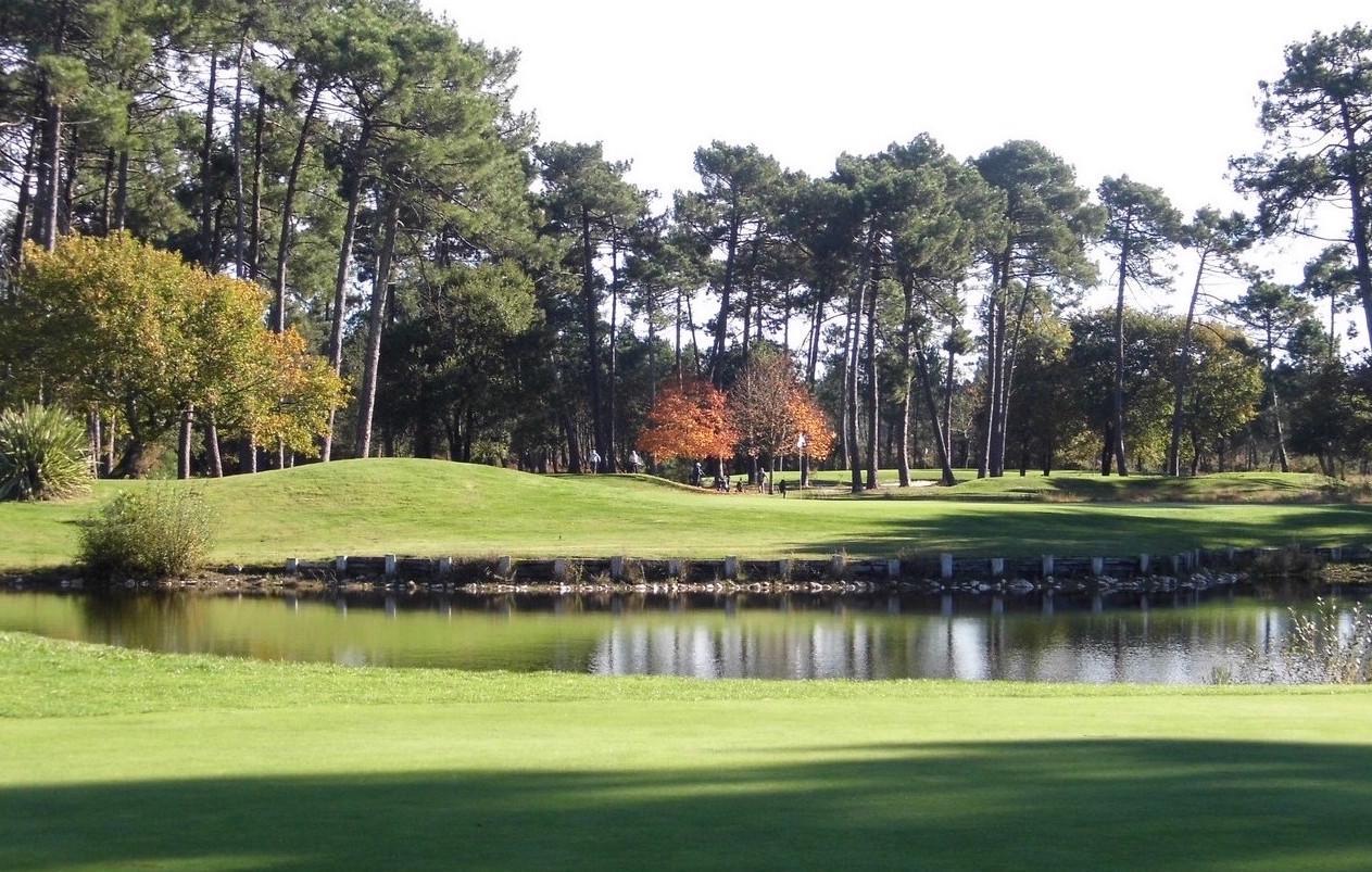 Golfer à Biscarrosse