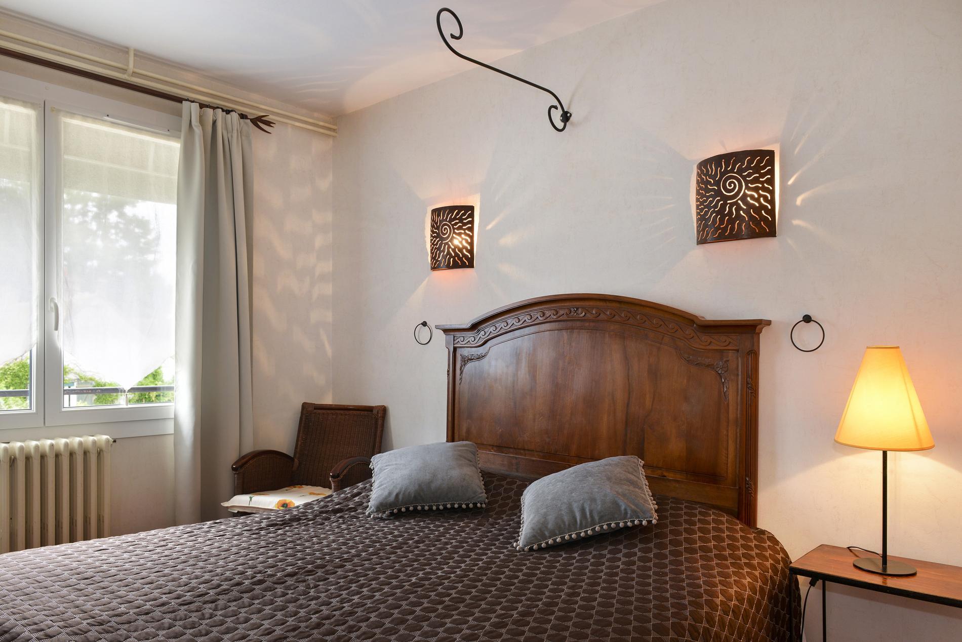 Chambres Hébergement de caractère à l\'Hôtel Saint-Cyr sur la Loire