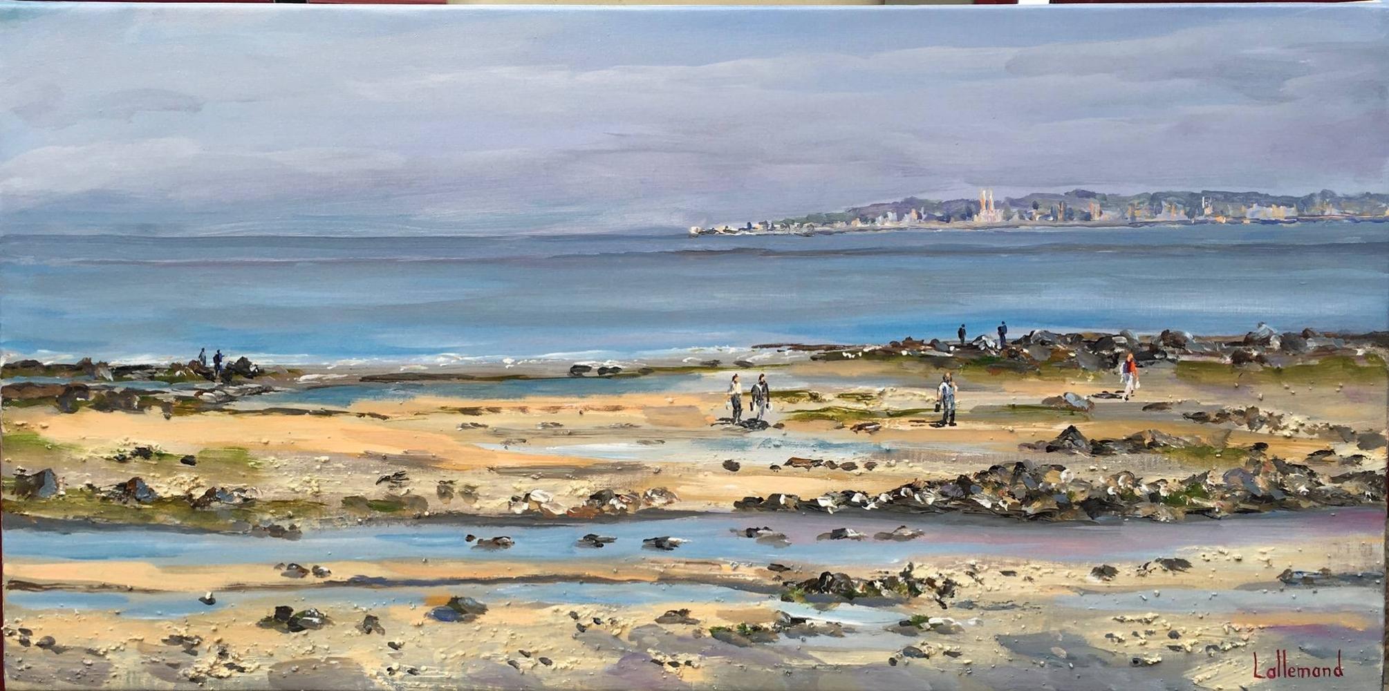 Eclaircie plage marée basse
