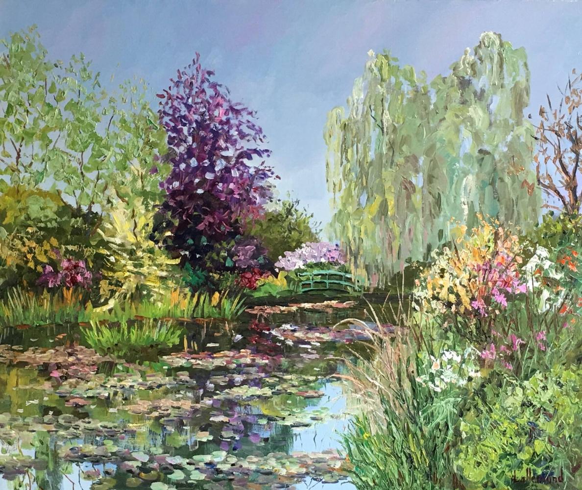 L'étang fleuri