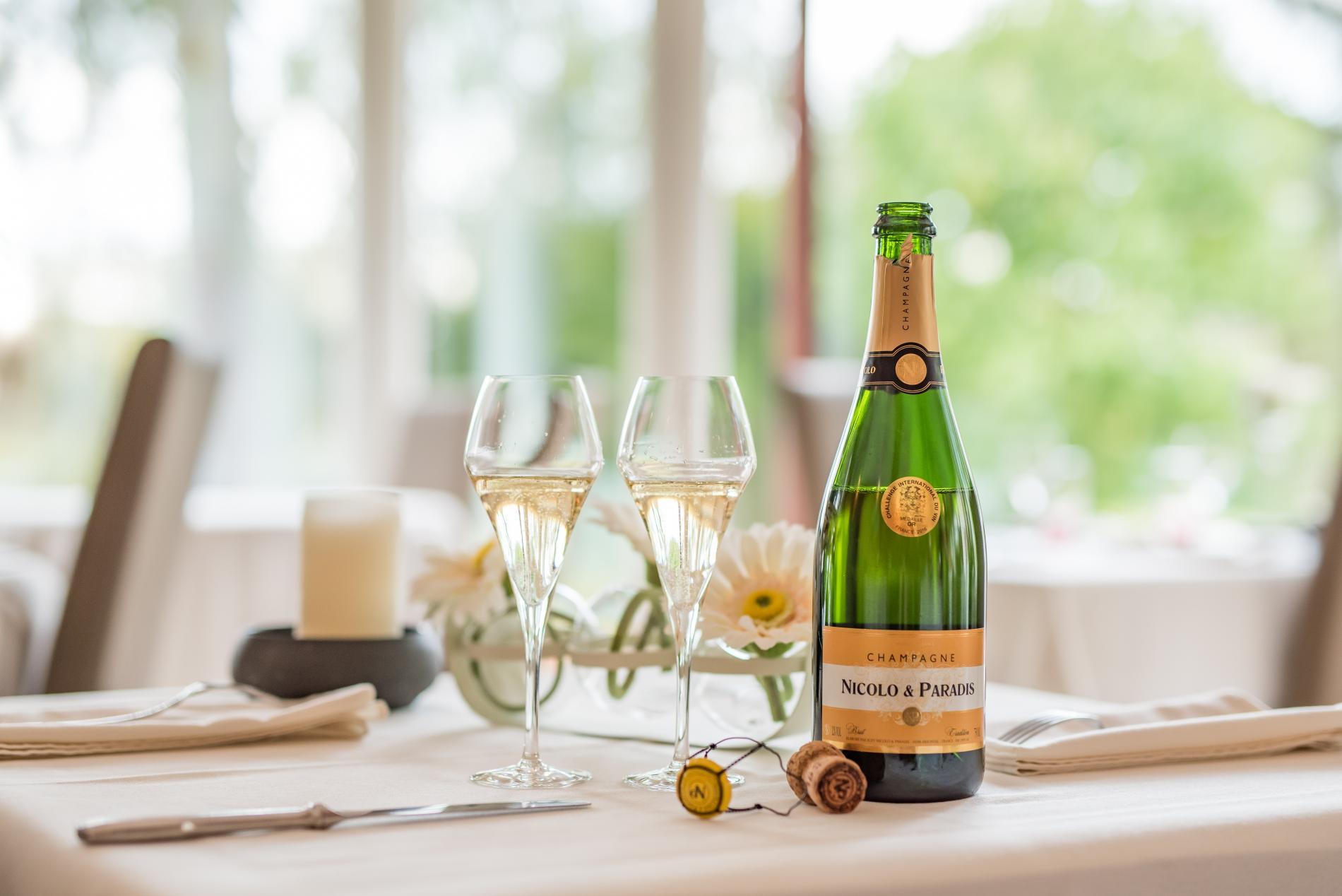 Tarifs et offres de l hostellerie de la chaumiere - Combien de bouteille de champagne par personne ...