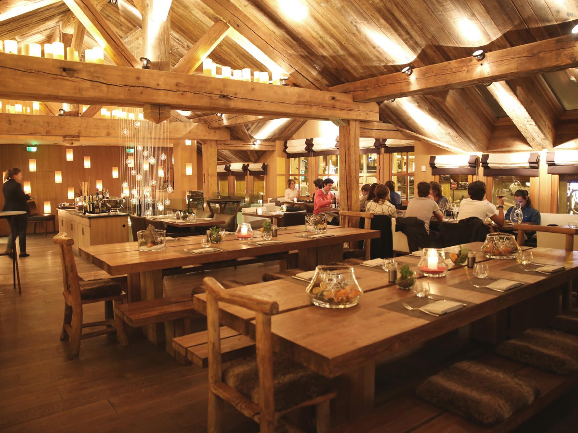 Carte Restaurant Le Savoy Meribel