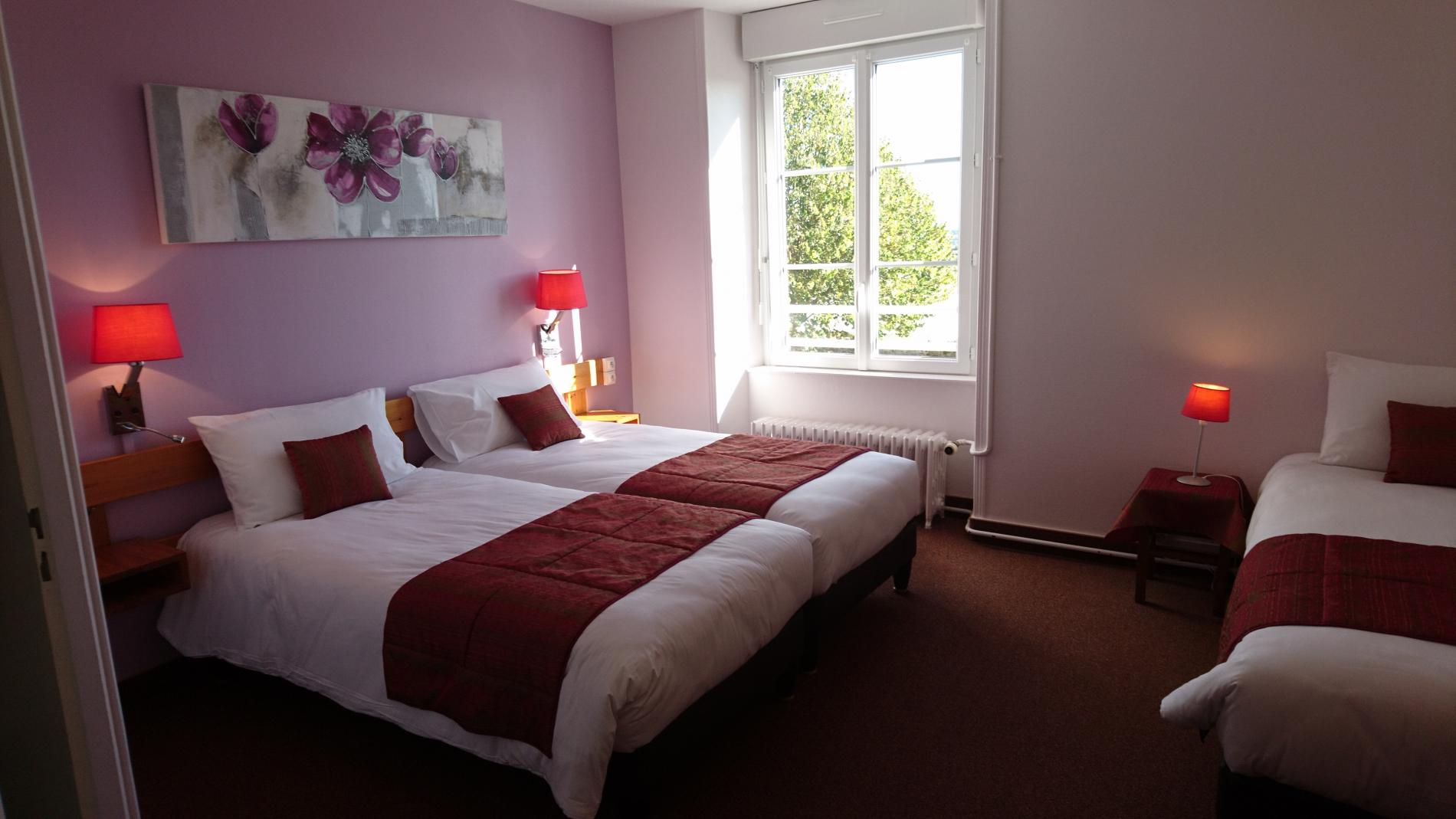 Chambre n°6 3Pers.