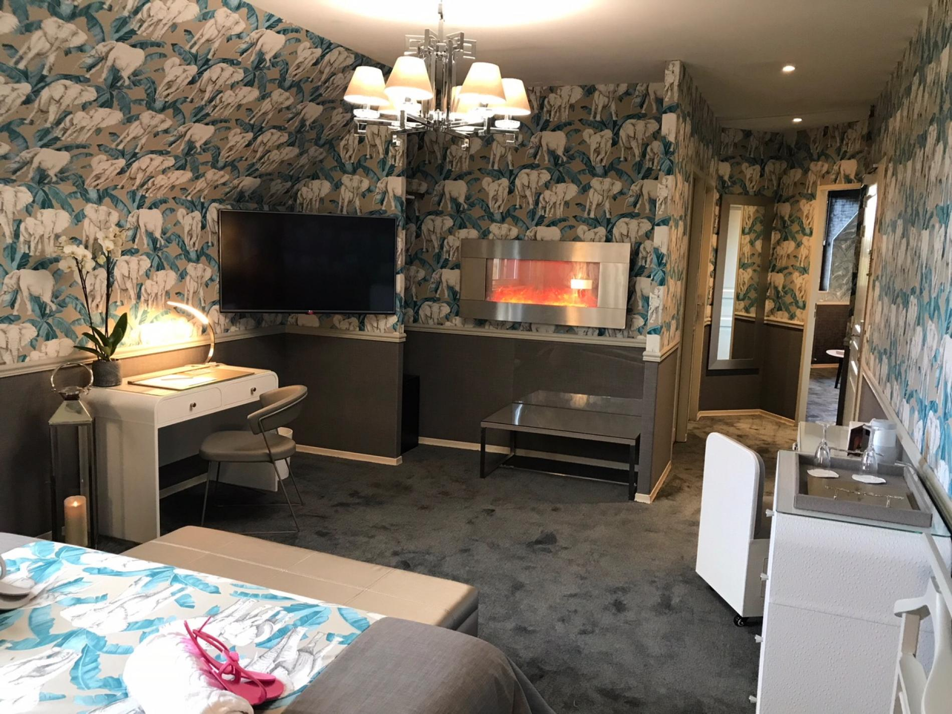 Suite avec deux chambres : Séminaire proche Deauville
