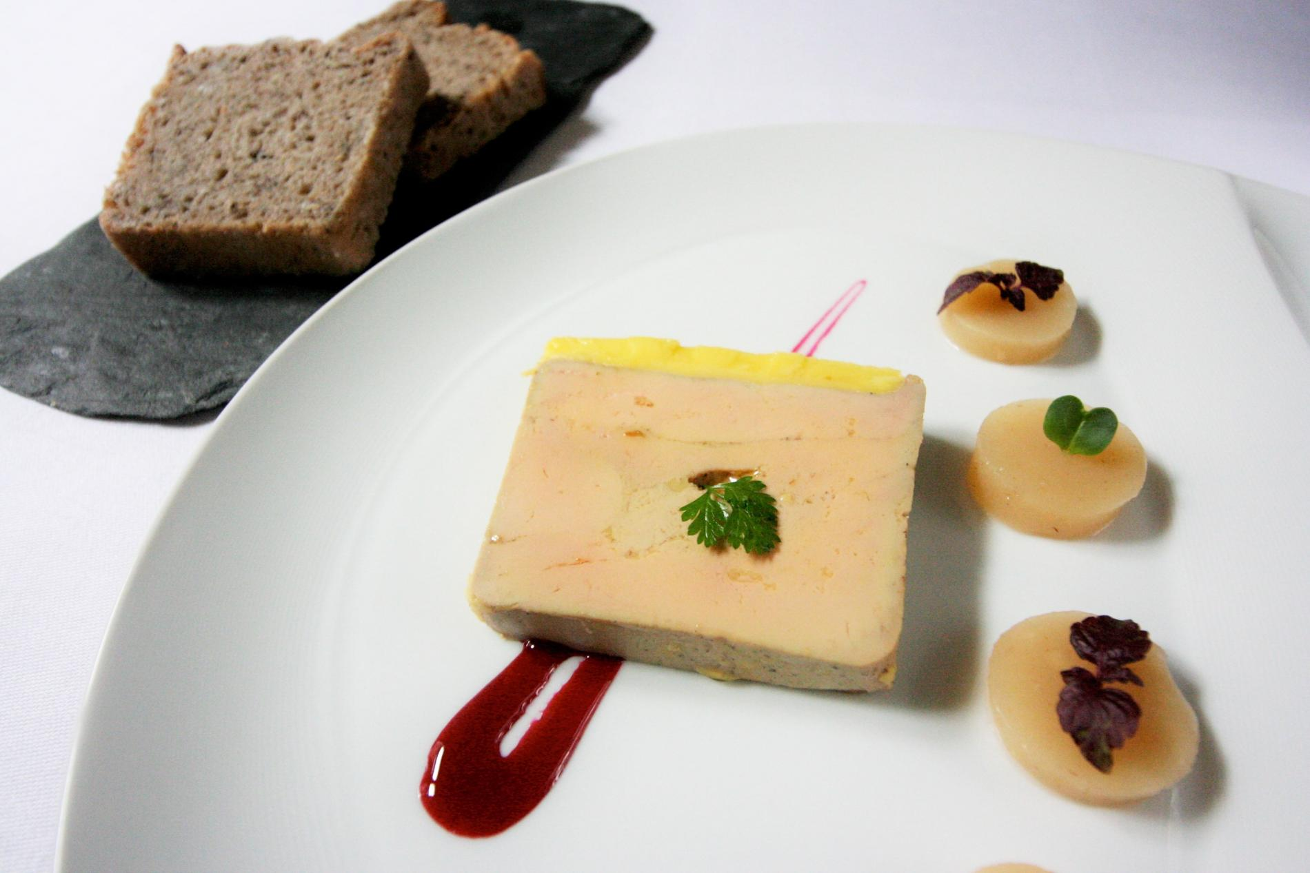 The homemade Foie Gras