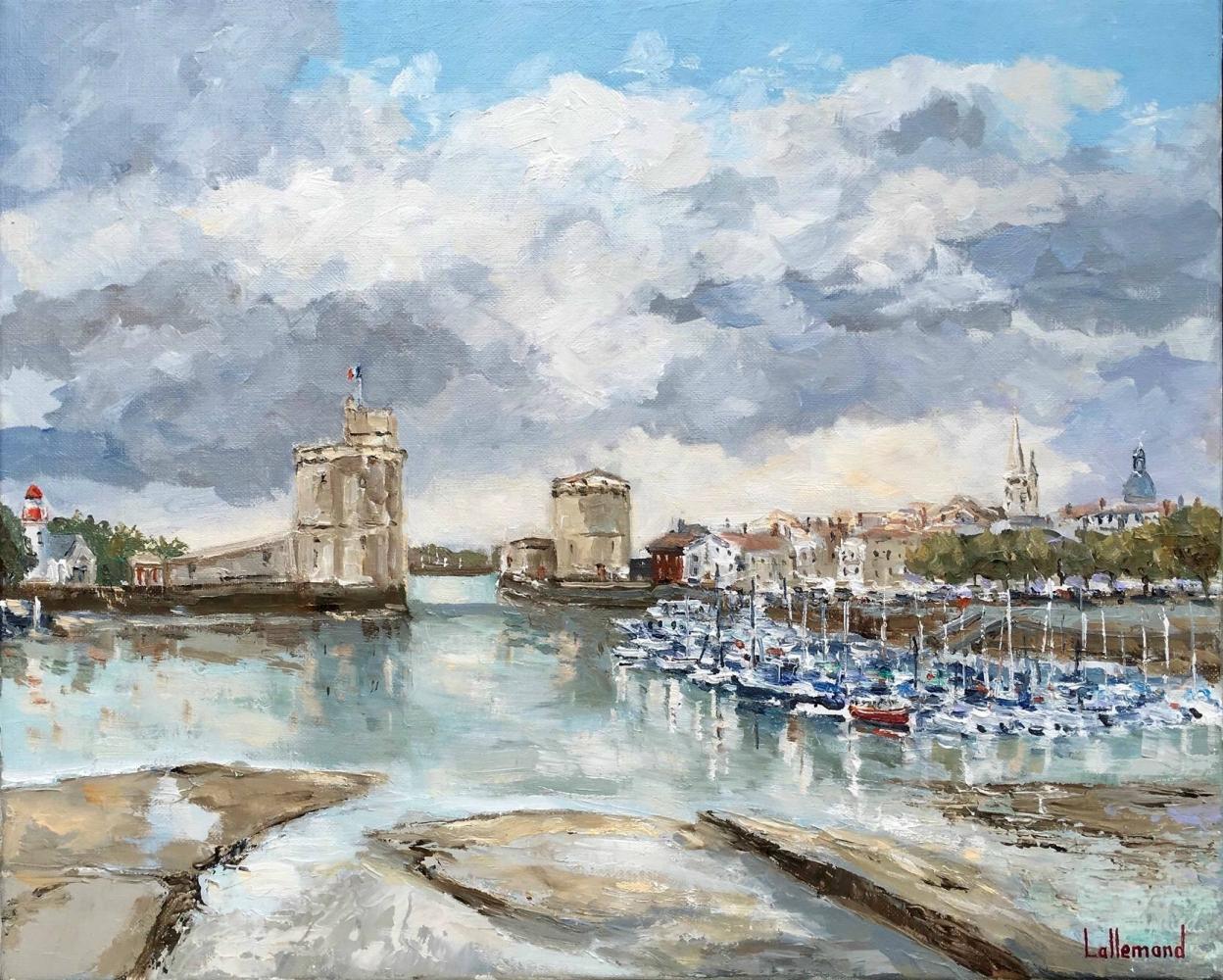 La Rochelle marée basse