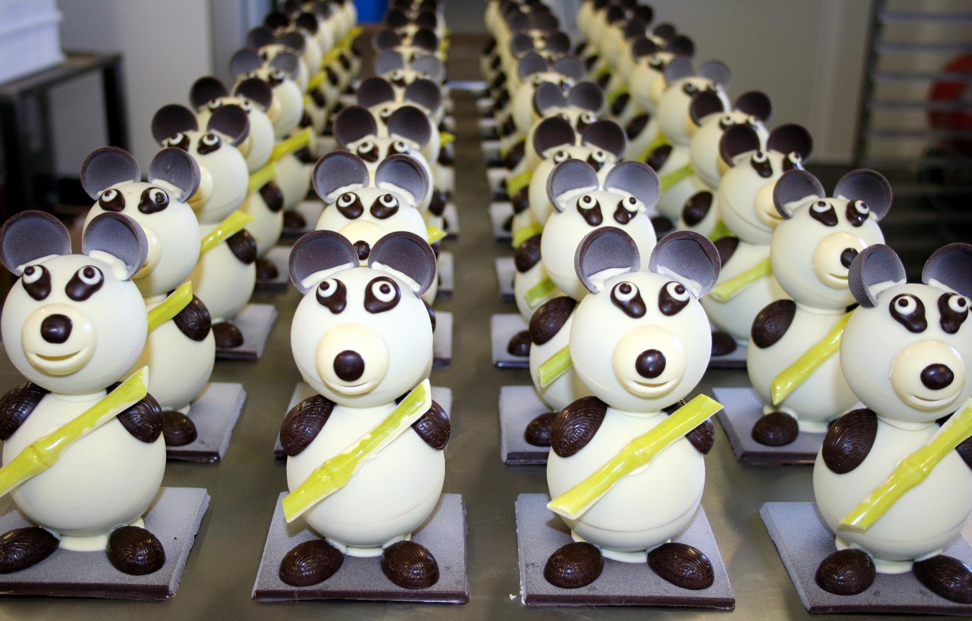 Notre armée de Pandas a rencontré un succès fou dans notre boutique pour Pâques