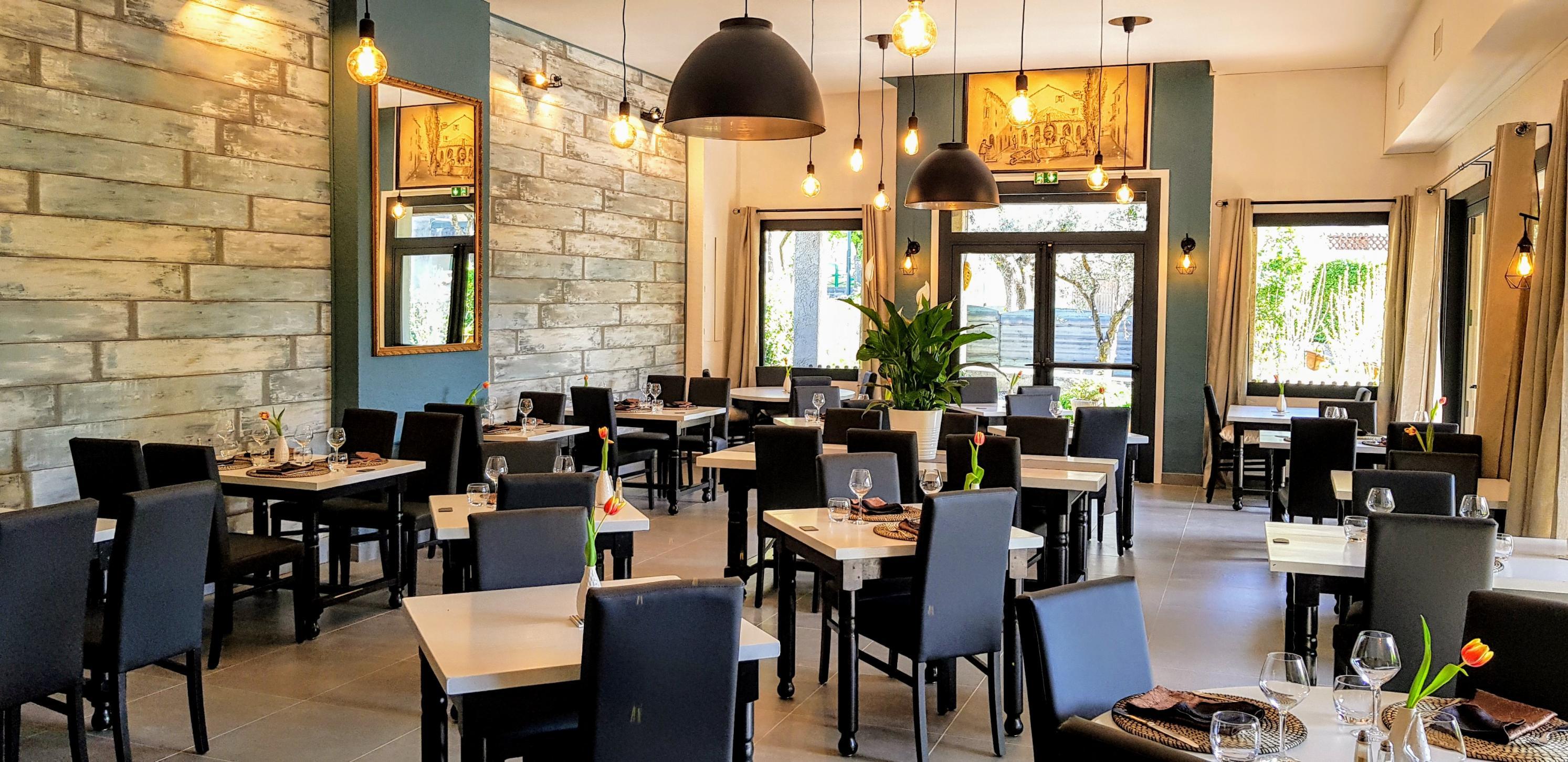 """La salle du restaurant """"La Table d'Honorine"""""""