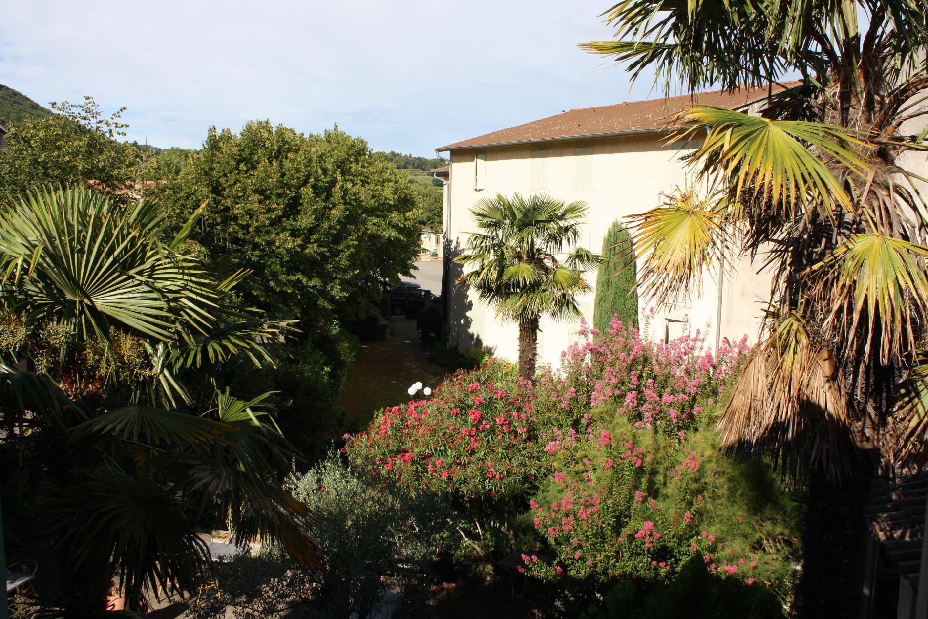 Vue sur le village d'une Chambre Provençale Standard