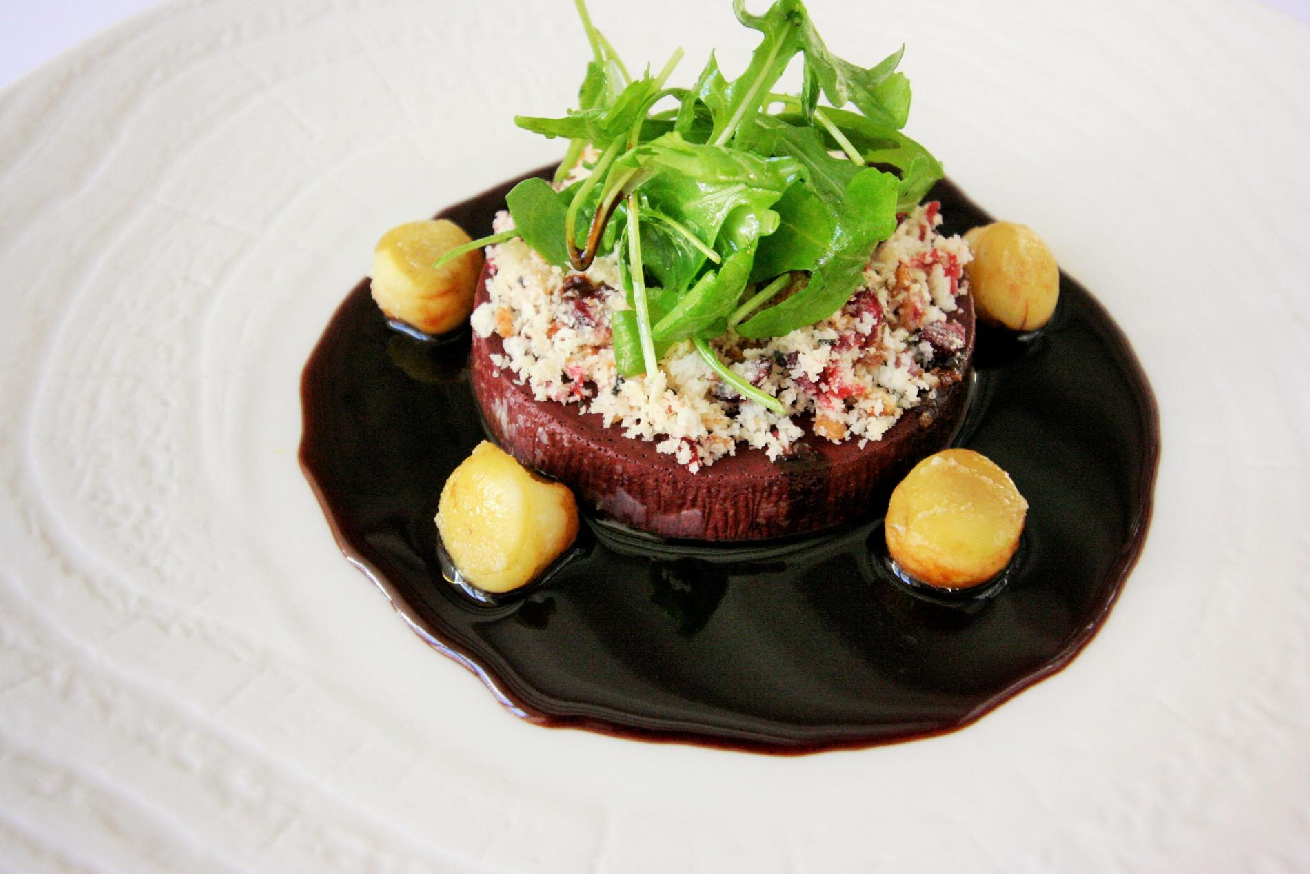 Mortagne's black pudding