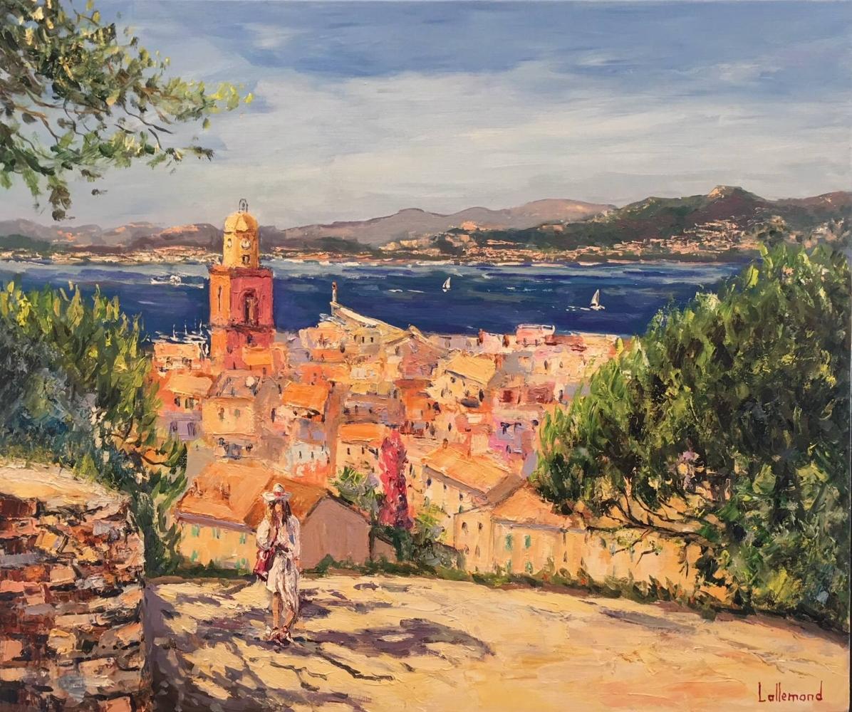 Sur les hauteurs de Saint Tropez