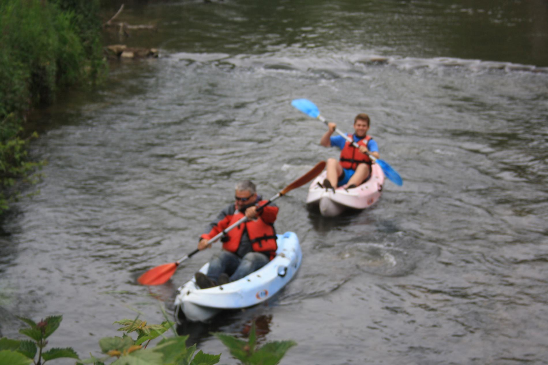 canoe sur reviers !!!!