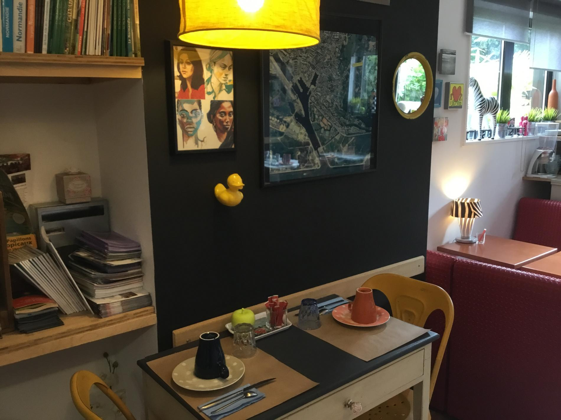 Salle de petits déjeuners
