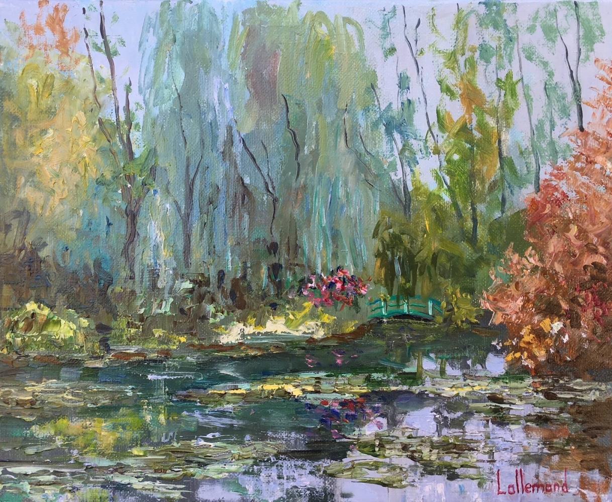 L'étang fin de saison