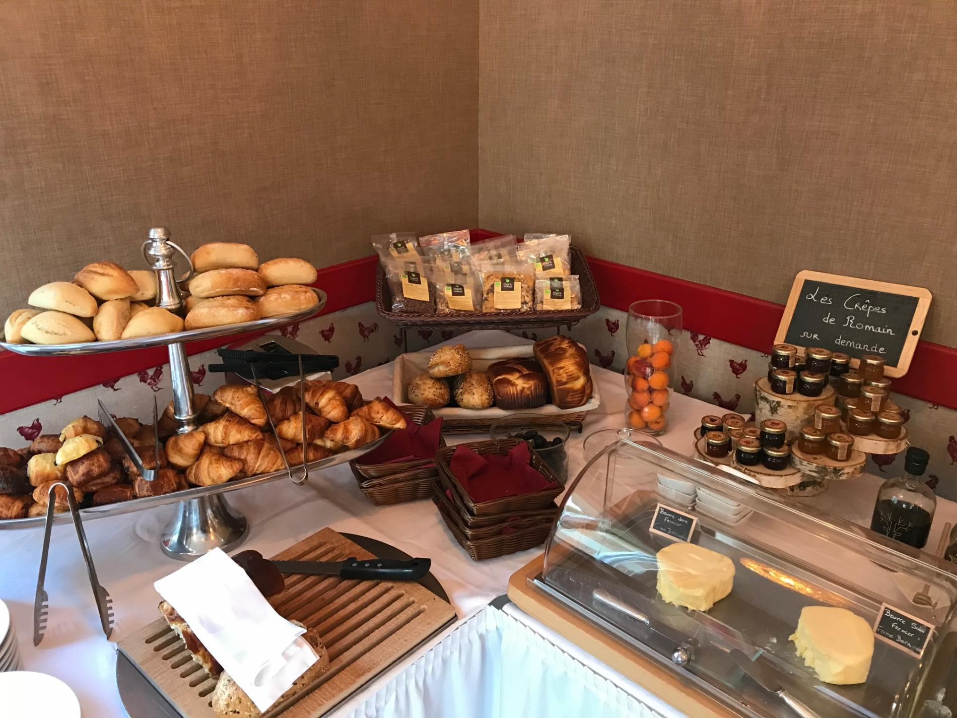 Petit déjeuner buffet pour séminaire à Deauville