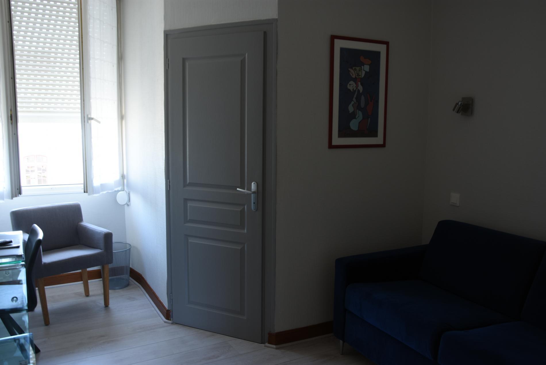 salon privatif de la chambre supérieure+