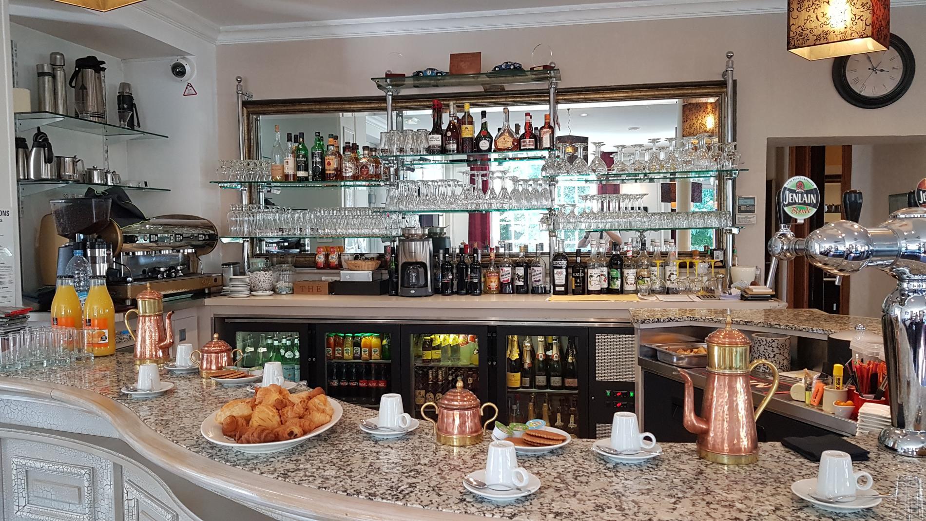 Café d'accueil La Sapinière.