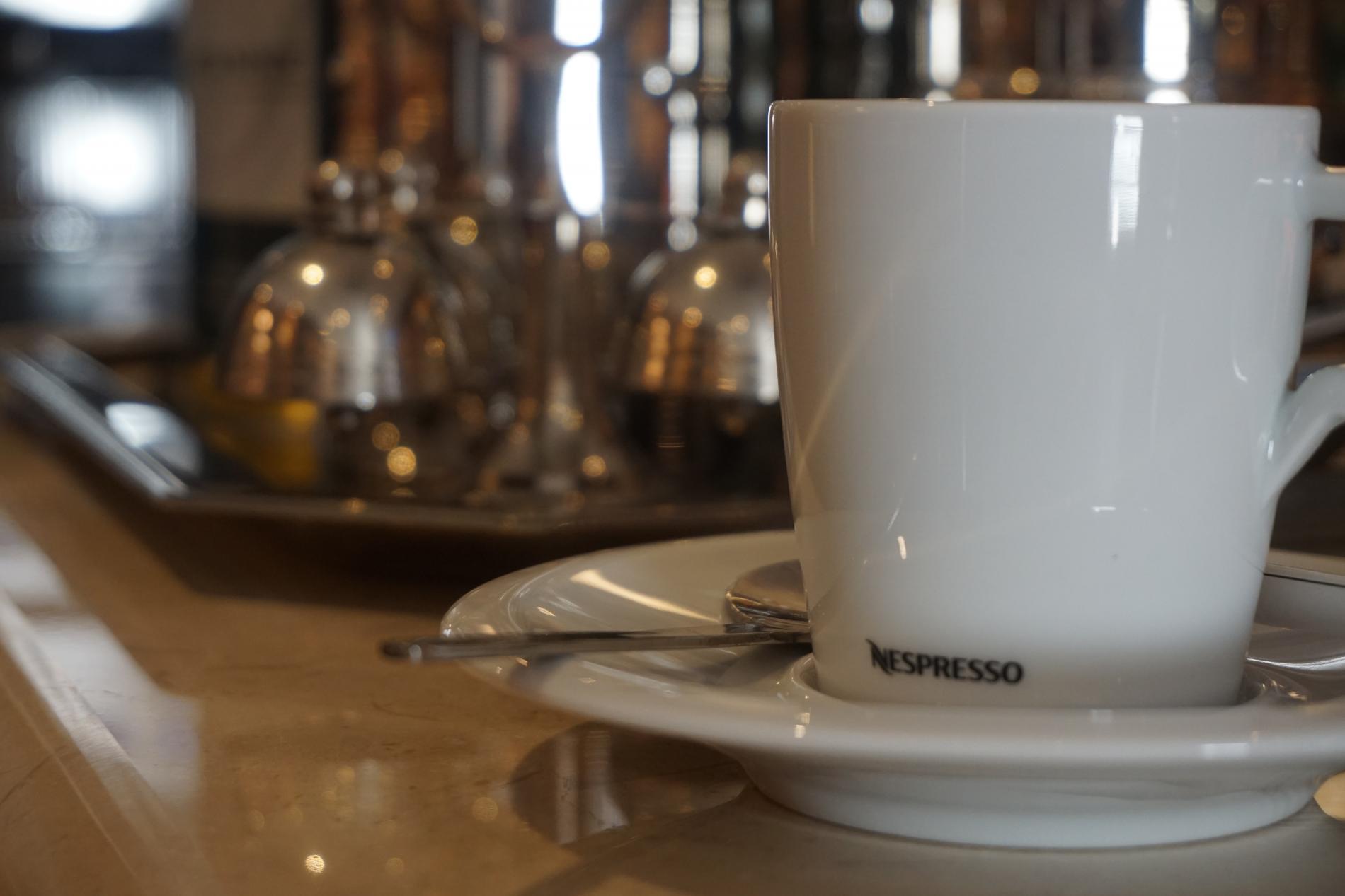 13 exceptional Grand Crus Nespresso at the Bar de la Couronne