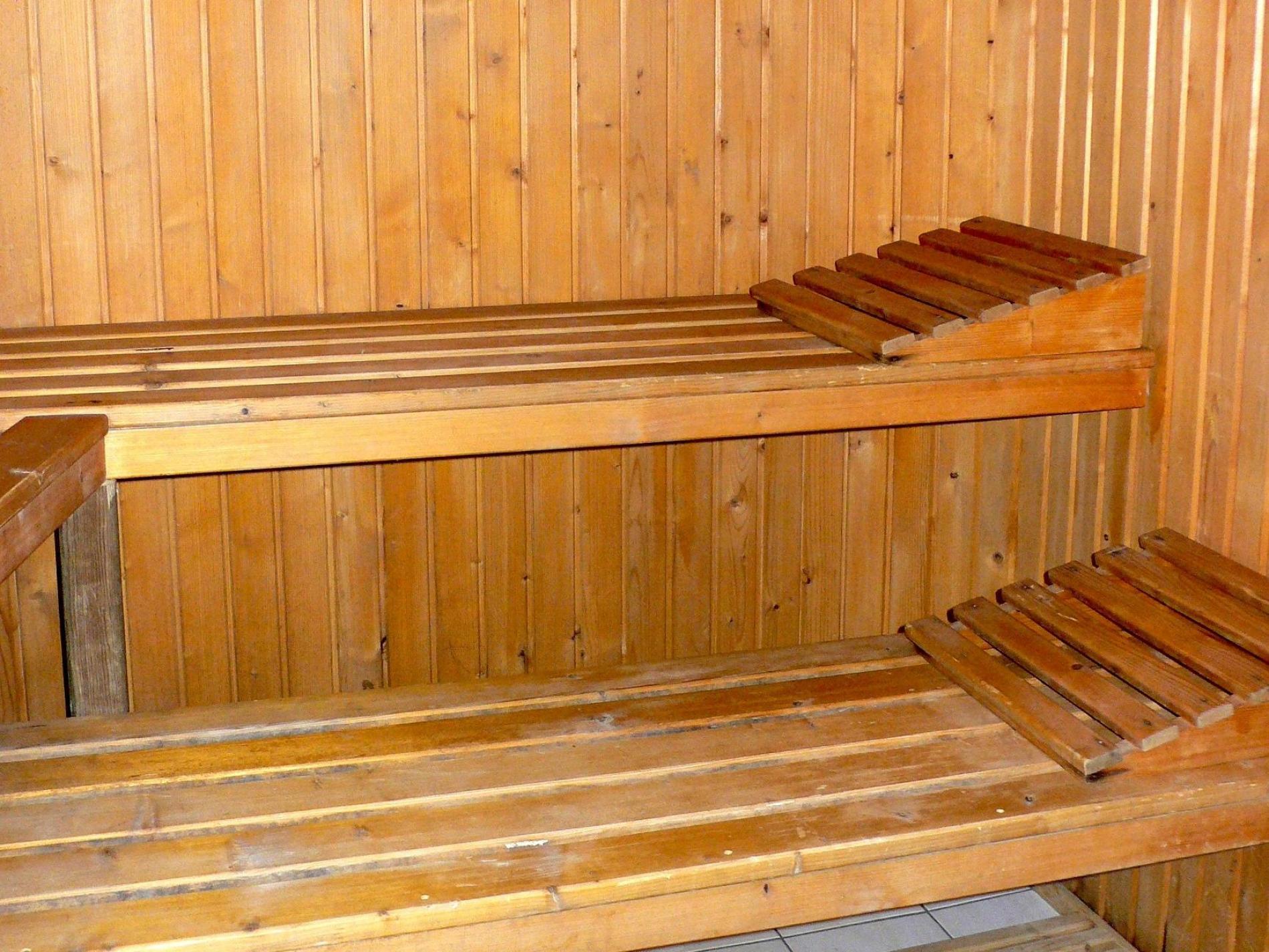 Piscine, Sauna