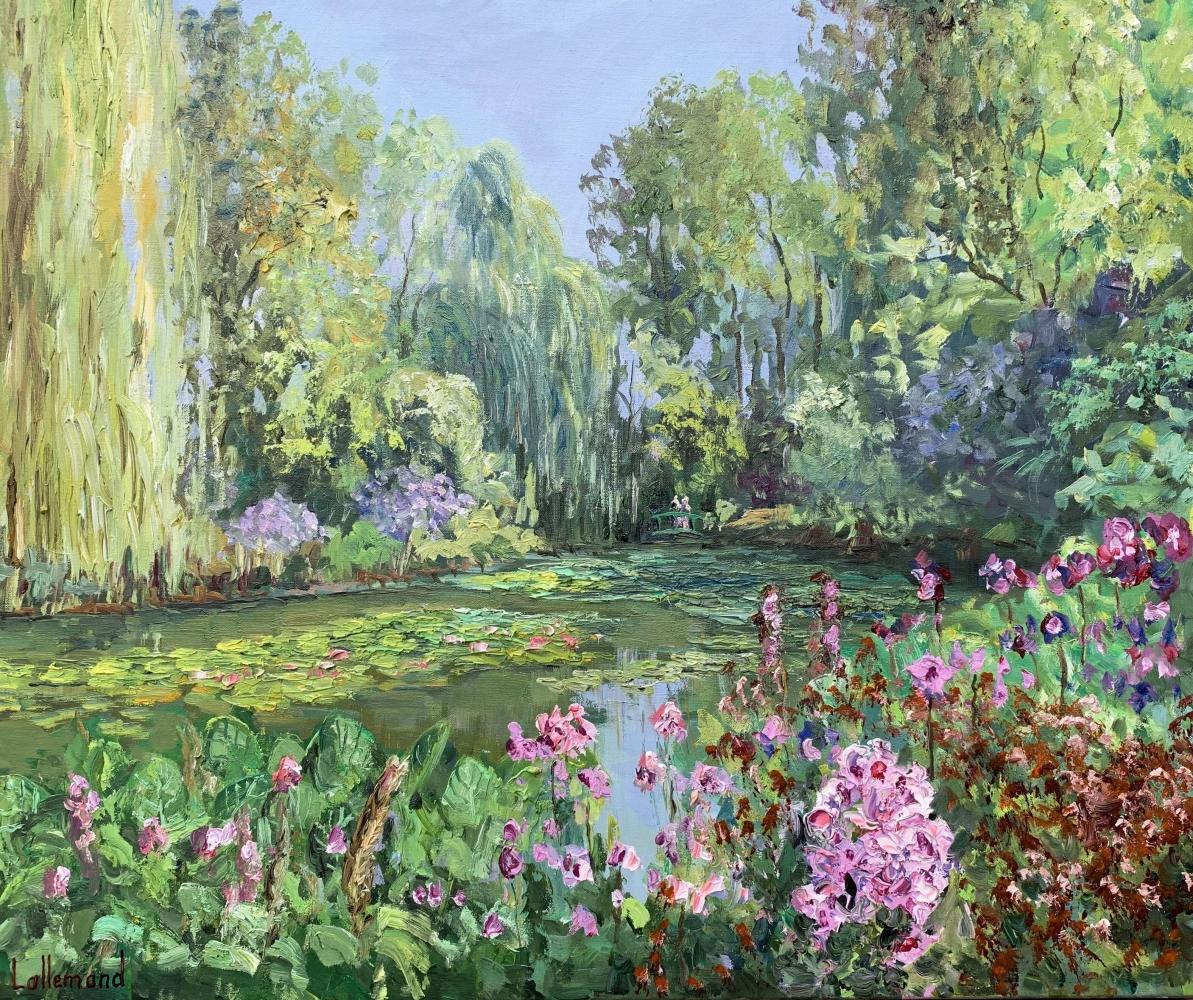 Le temps des fleurs à Giverny