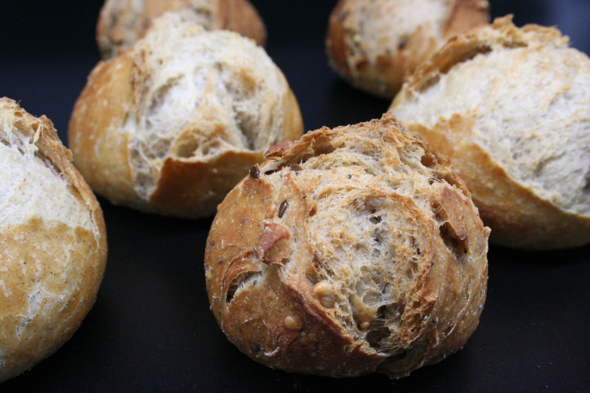 Les petits pains bio fait maison