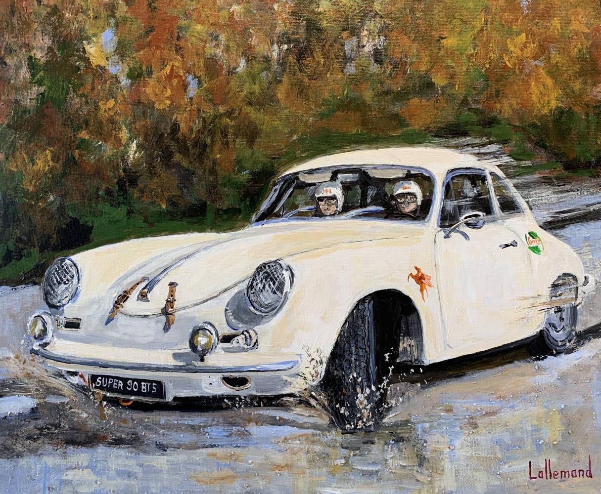 Porsche 356 en Rallye d'automne