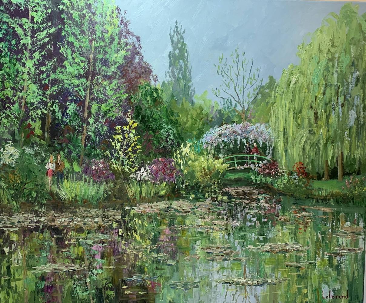 Un air de printemps sur l'étang