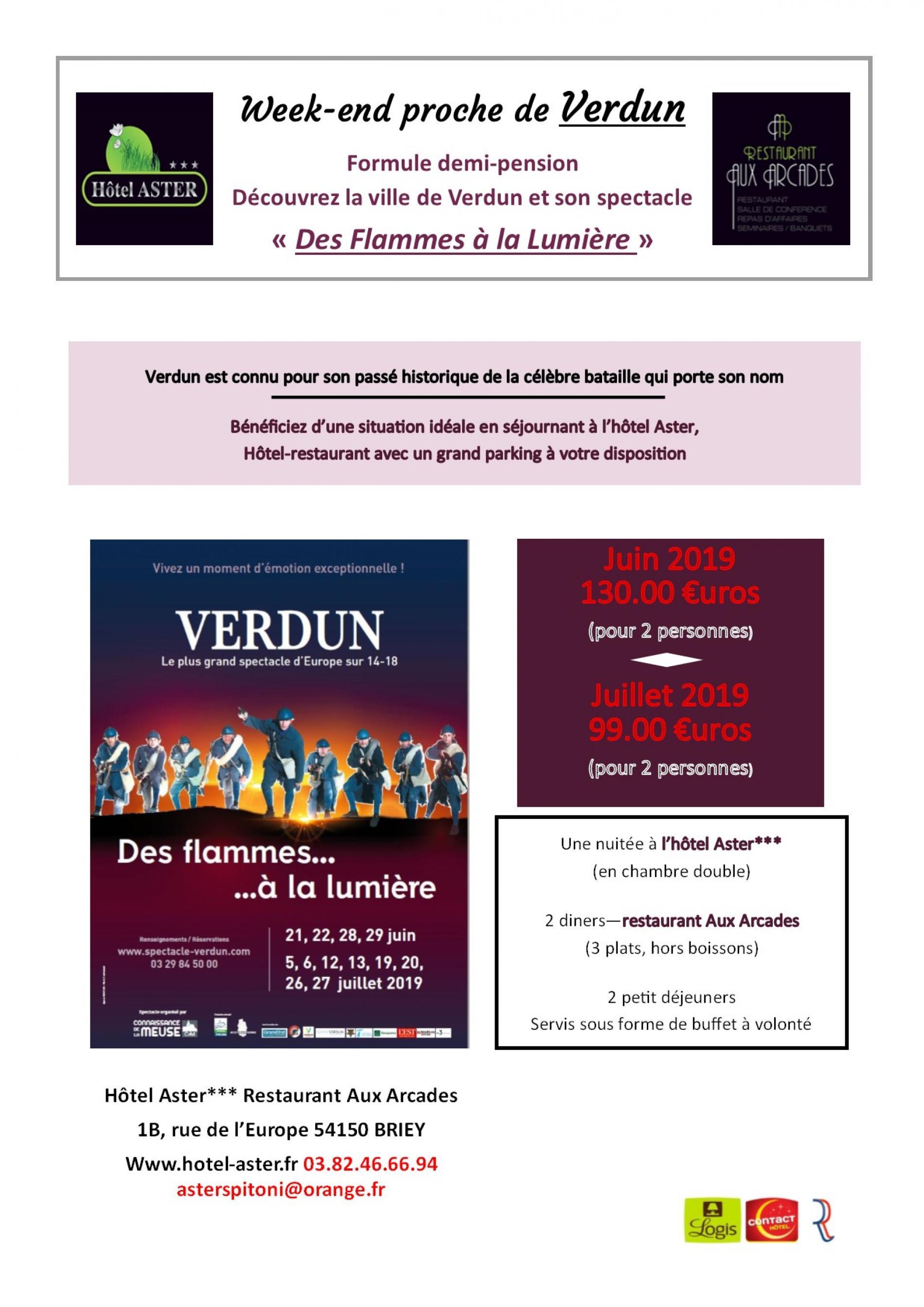Week-end proche de Verdun