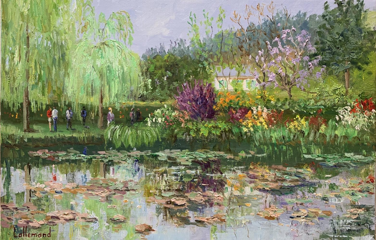 L'étang en mai