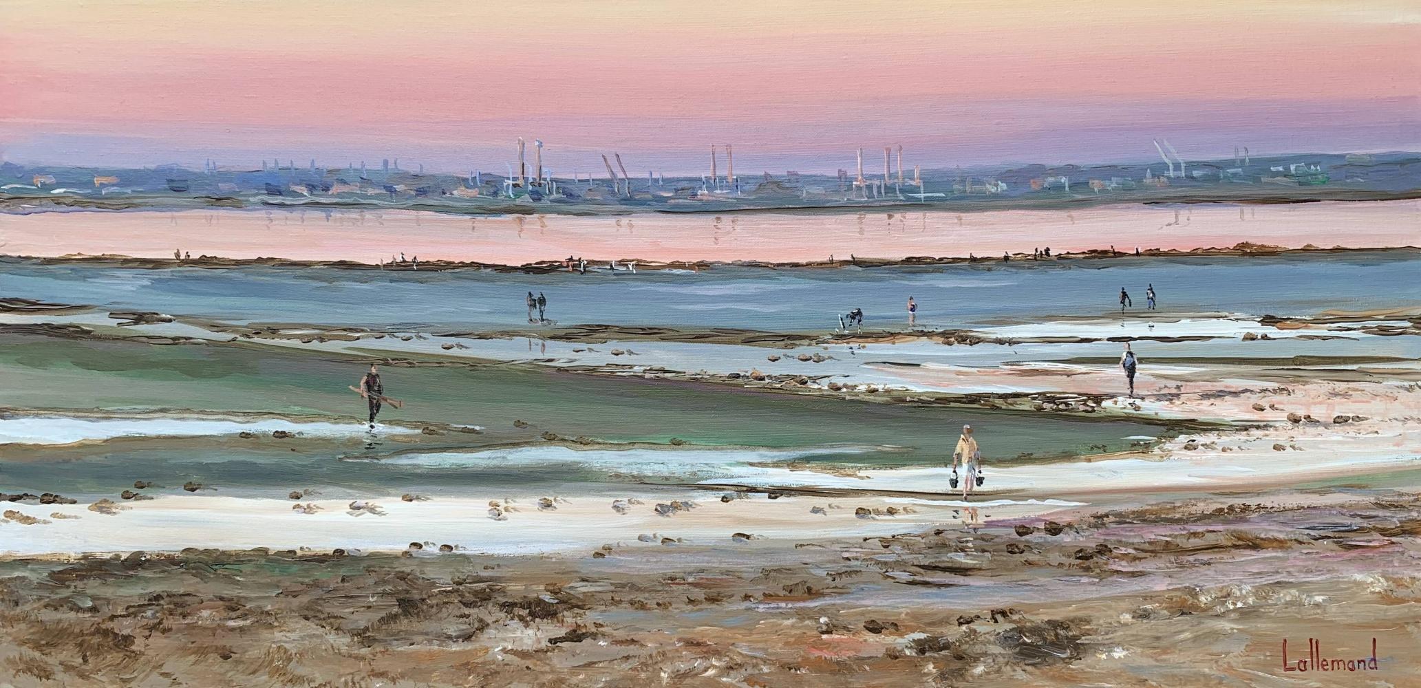 Un soir de pêche à pied à Villerville
