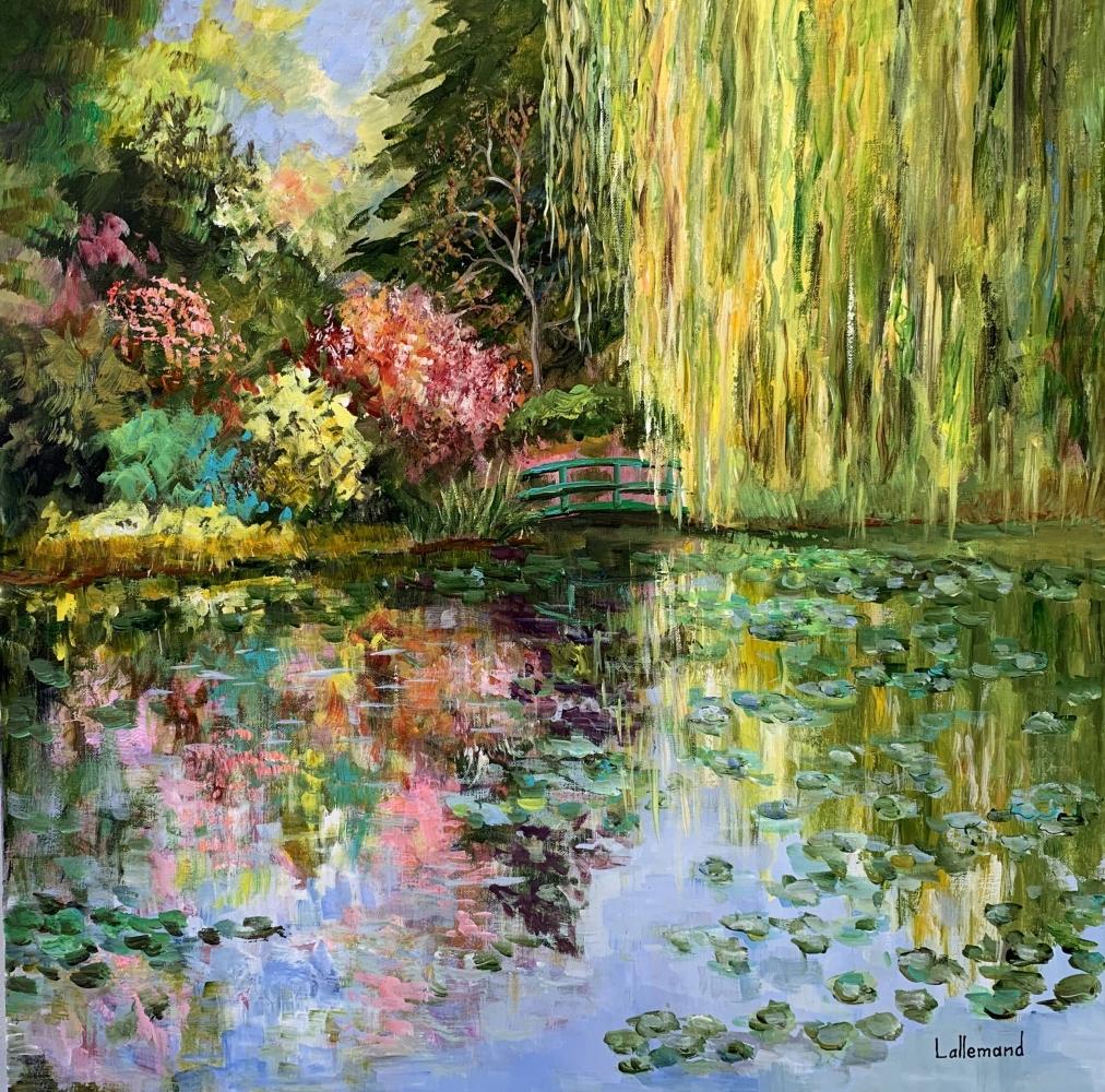 L'étang en octobre