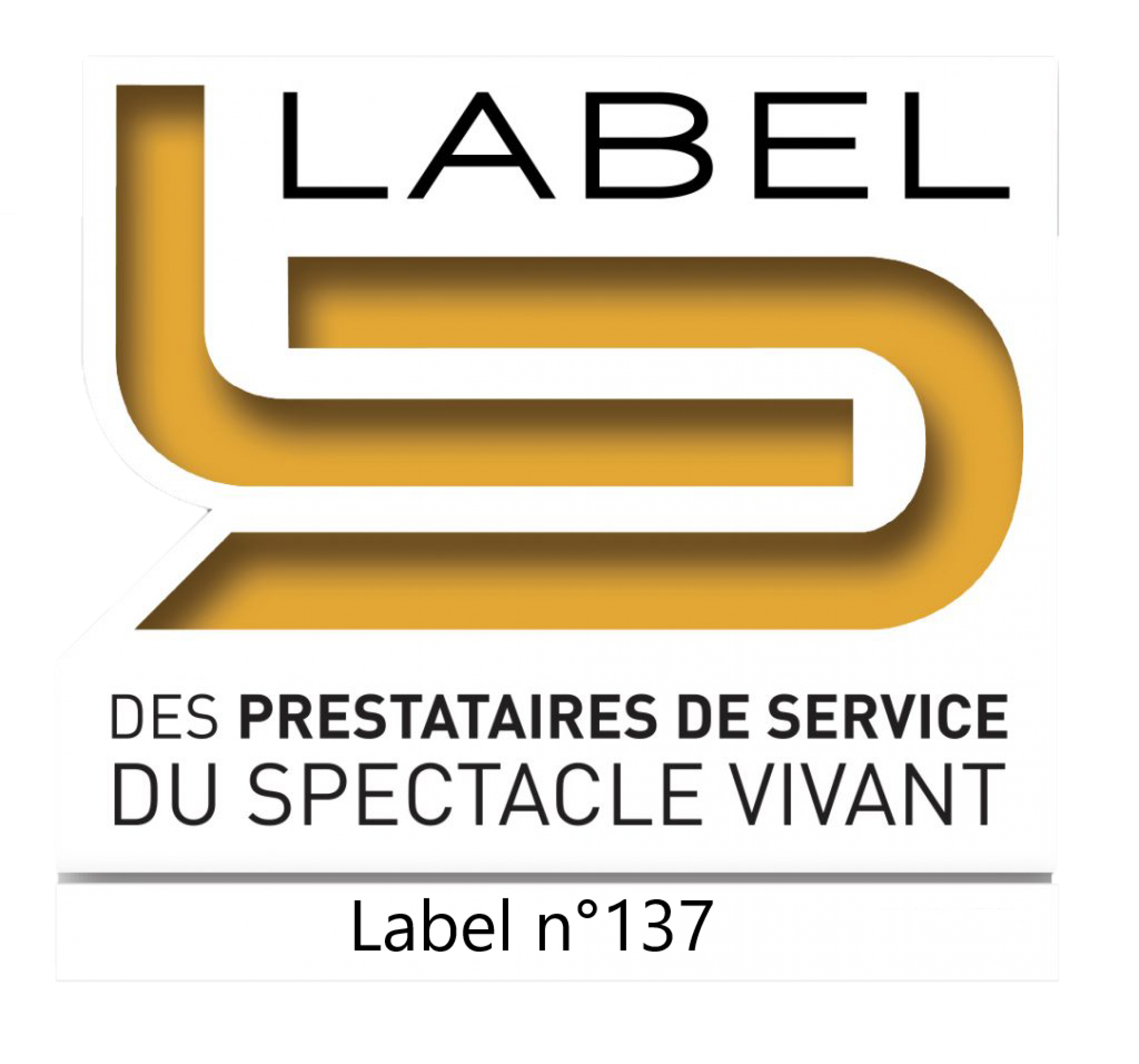 label prestataire du spectacle vivant