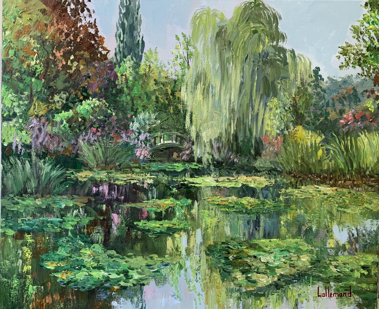 L'étang fin août