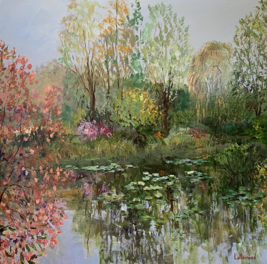 Un coin d'étang fin de saison