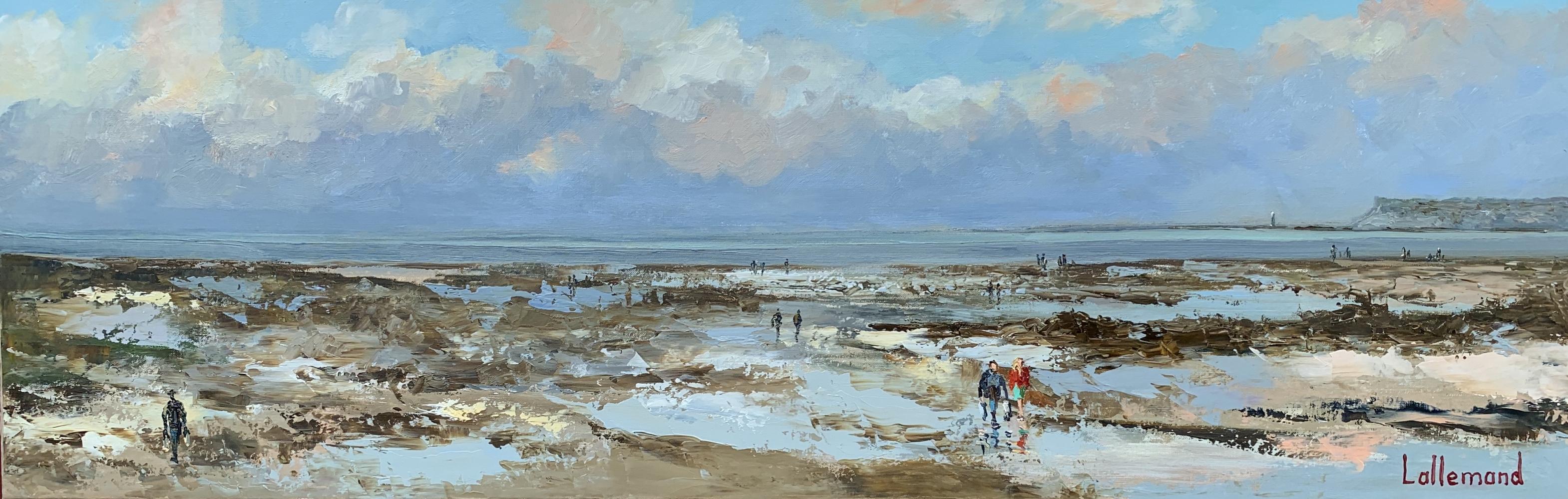 Marée basse Villerville
