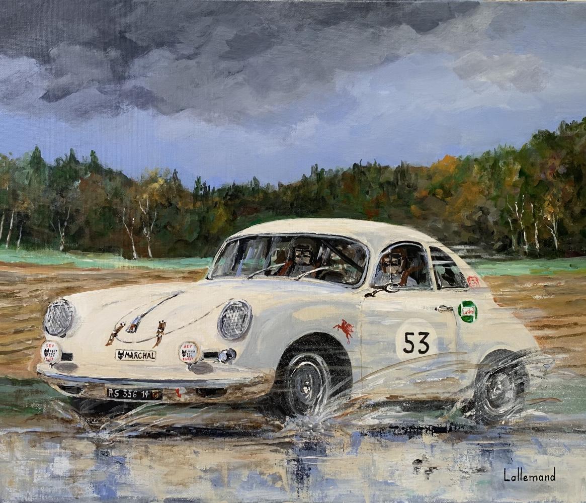 Roulage en Porsche 356