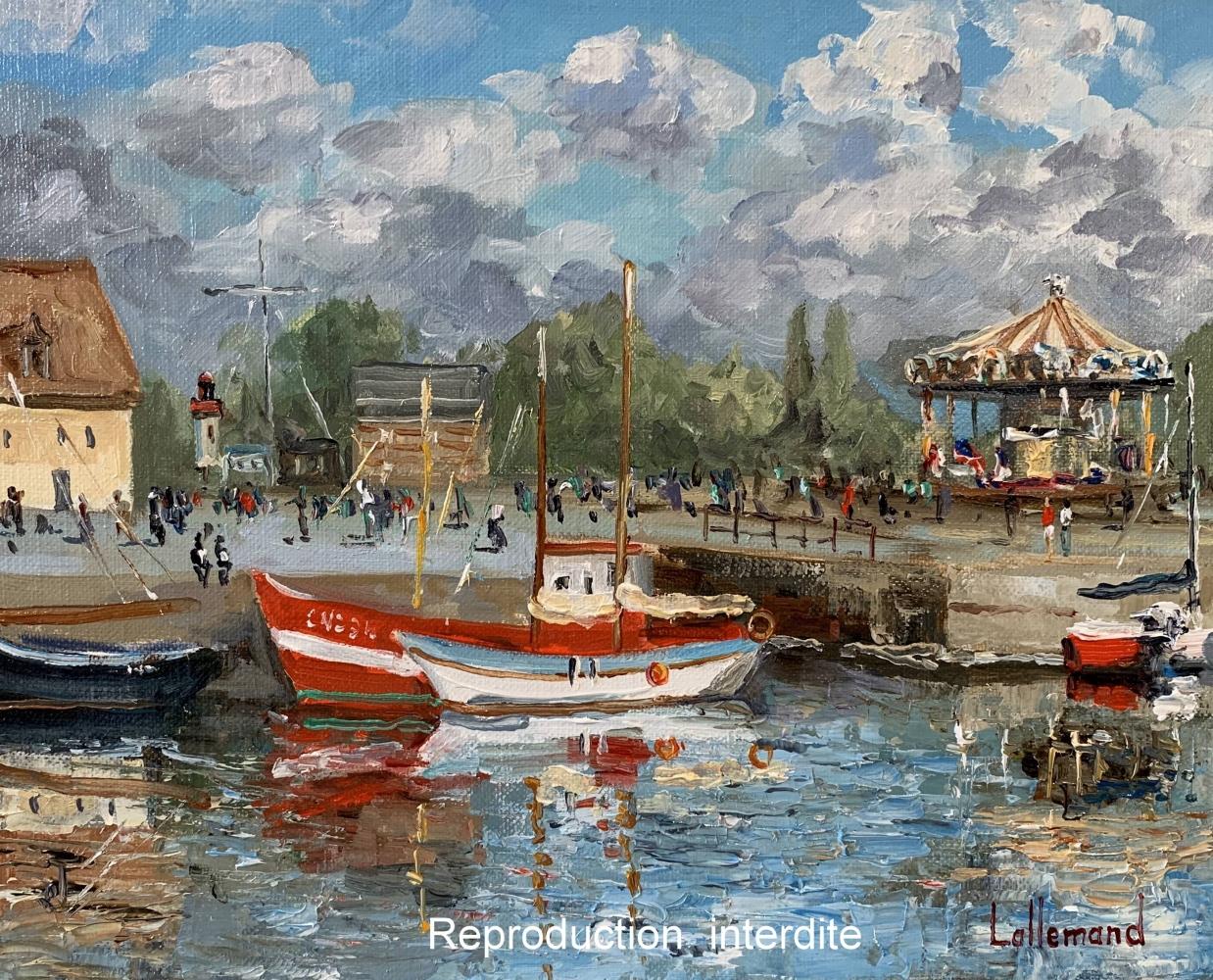 Le carrousel à Honfleur