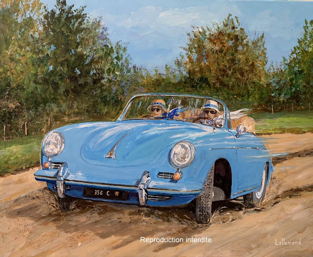 Balade en Porsche 356 cabriolet