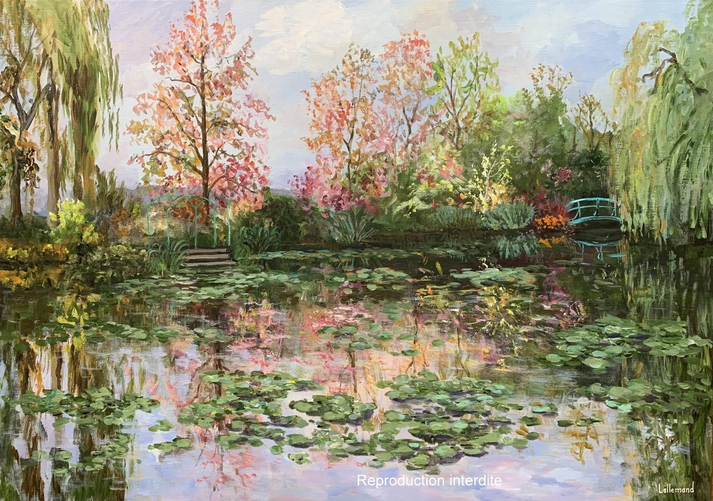 Un après midi d'automne à Giverny