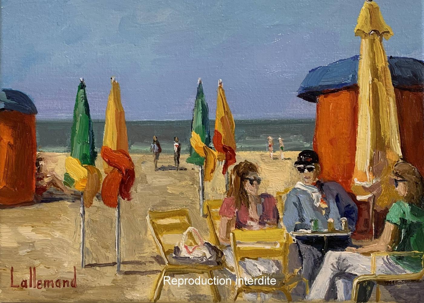 Retour à la plage