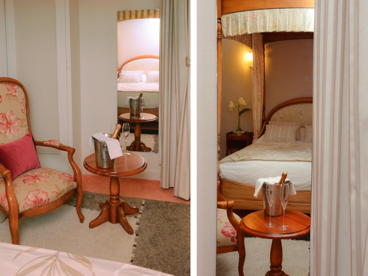 CHAMBRE DE L'HOTEL DU DAUPHIN SEES