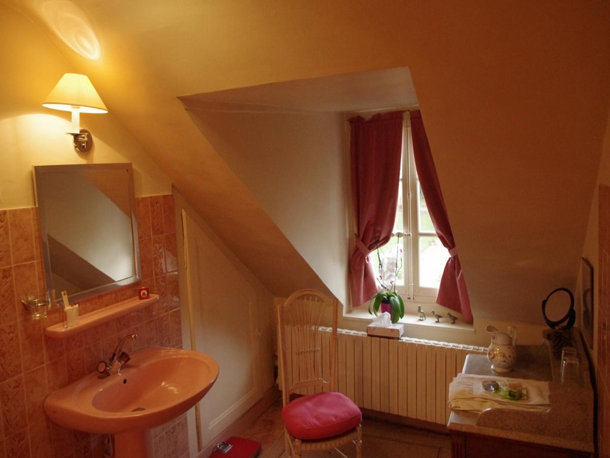 Salle de bain de la chambre Jacques Belot