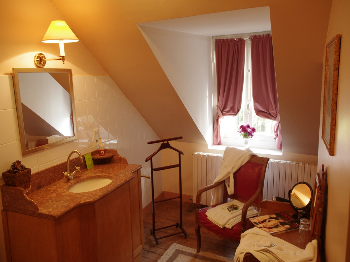 Salle de bain de la Suite Jean François Freart
