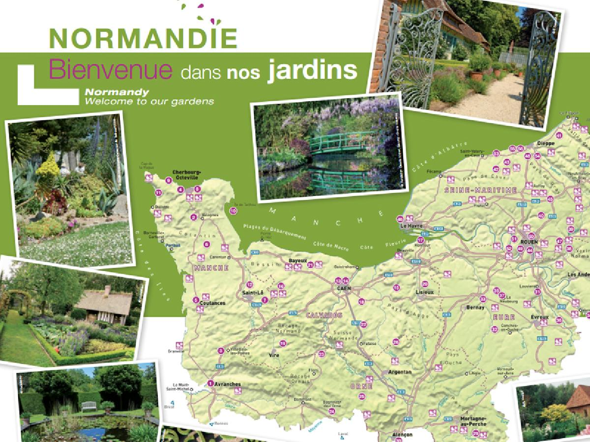 Normandy parks and gardens