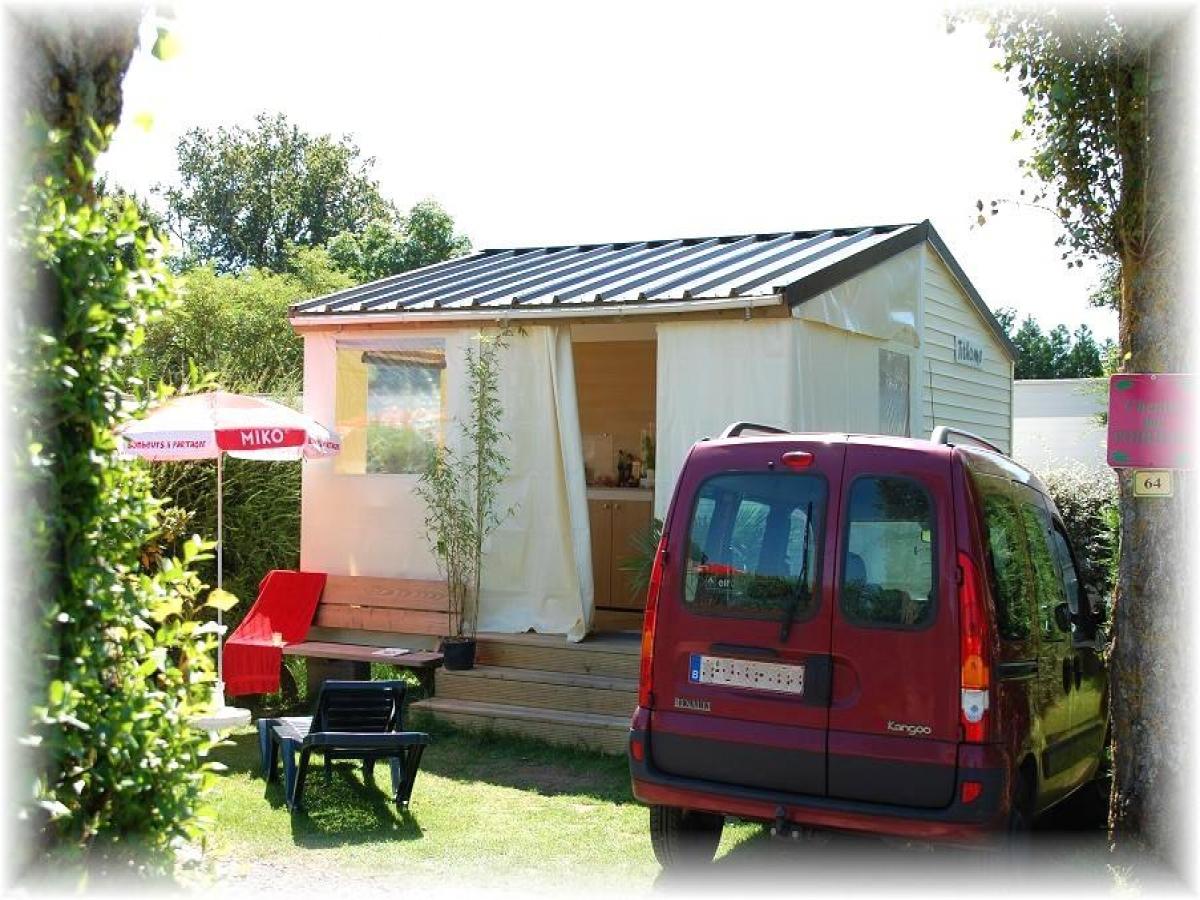 Le bungalow toilé