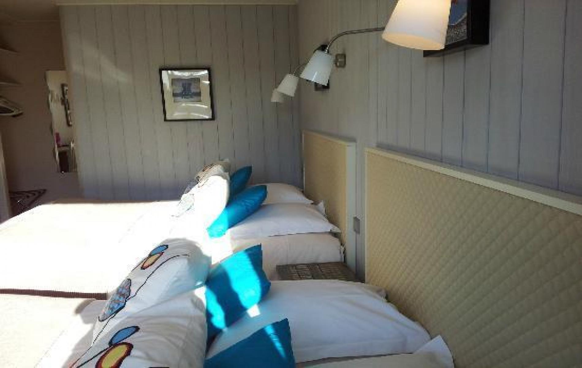 Hotel à Honfleur - les chambres- chambre familiale